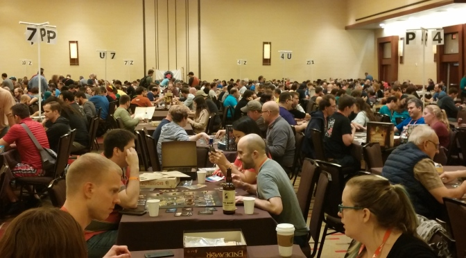 My second day at BGG Con