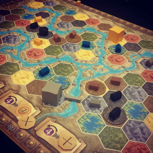 The land of Terra Mystica.