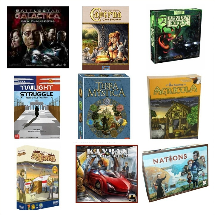 A few days ago @theboardgeek asked on Instagram what #mytop9boardgames were.