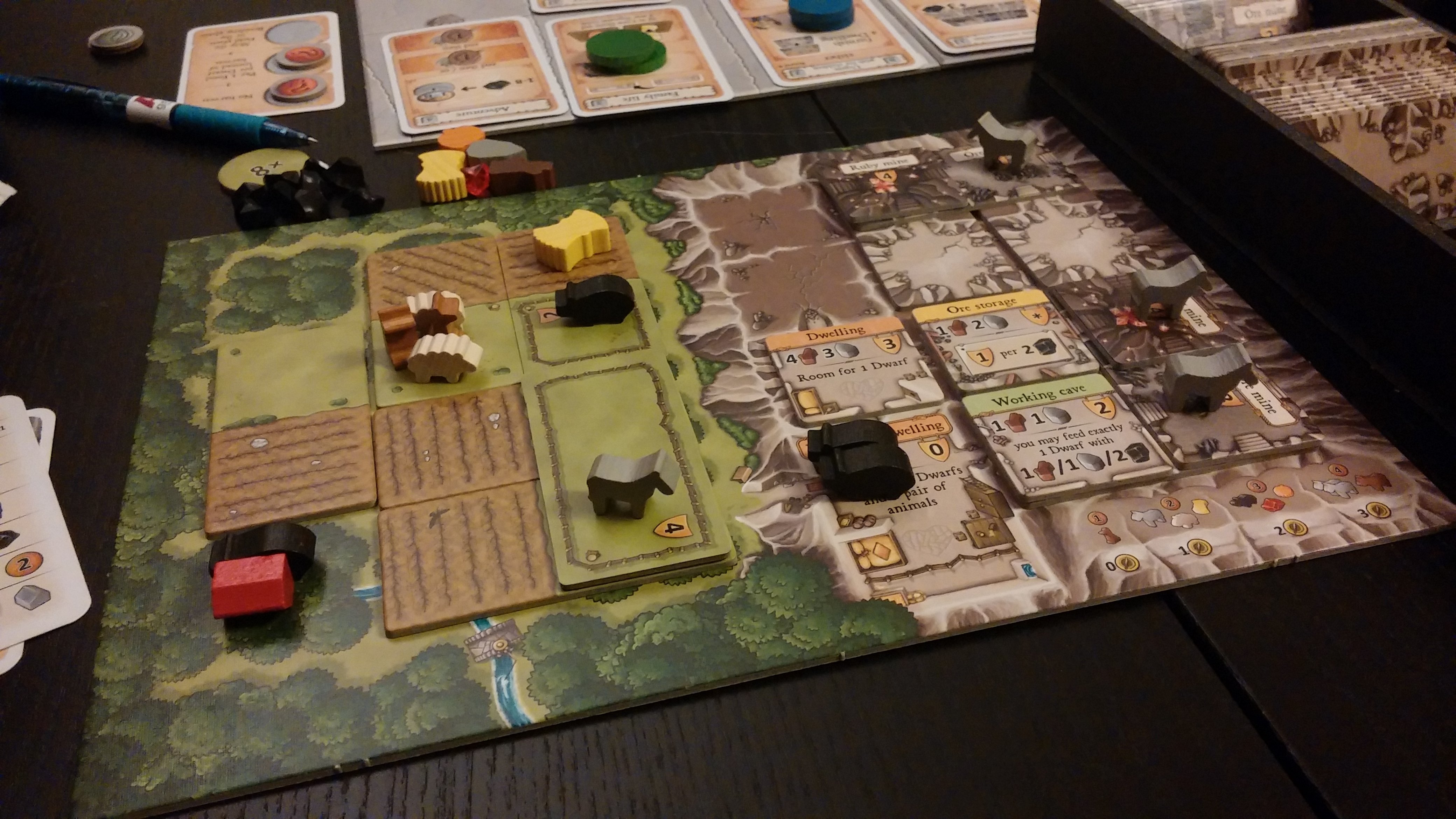 Uncategorized Love Scale Game fourth of july binge gaming board game meeple lady i love caverna its one my top 9 games to play