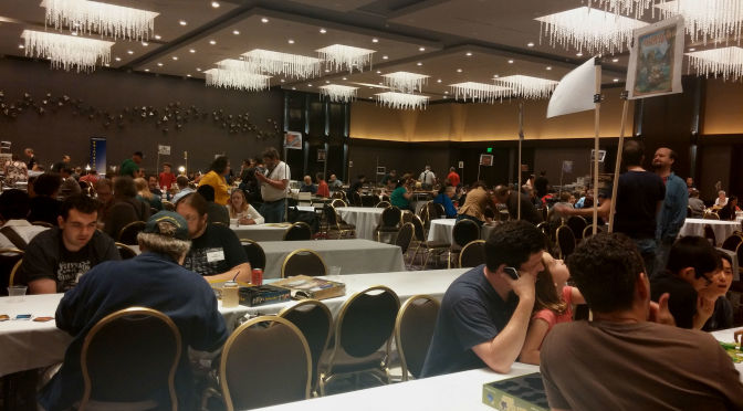 Popping into Strategicon in Los Angeles