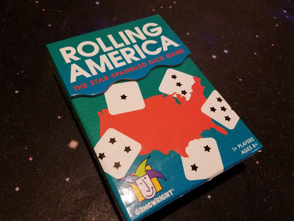 Rolling America is a brainy dice-rolling puzzle game.