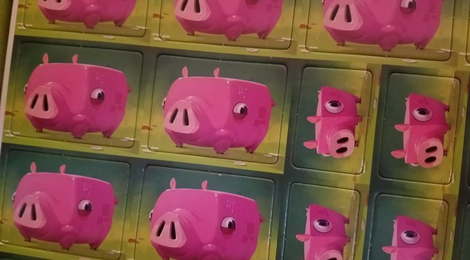 Happy things … pigs, salmon and gaming!