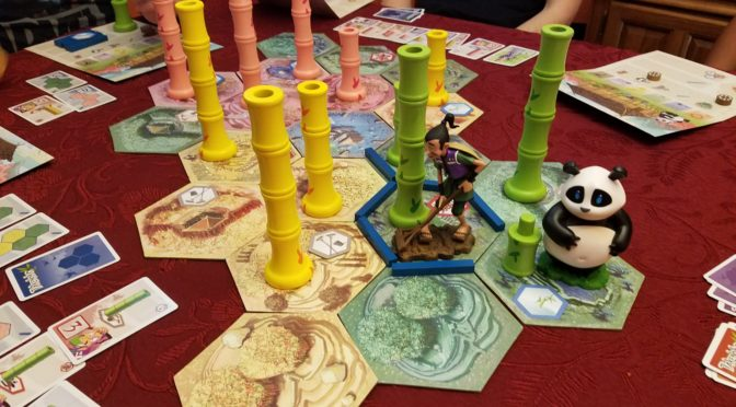 The big 3-6, and a Takenoko Tournament
