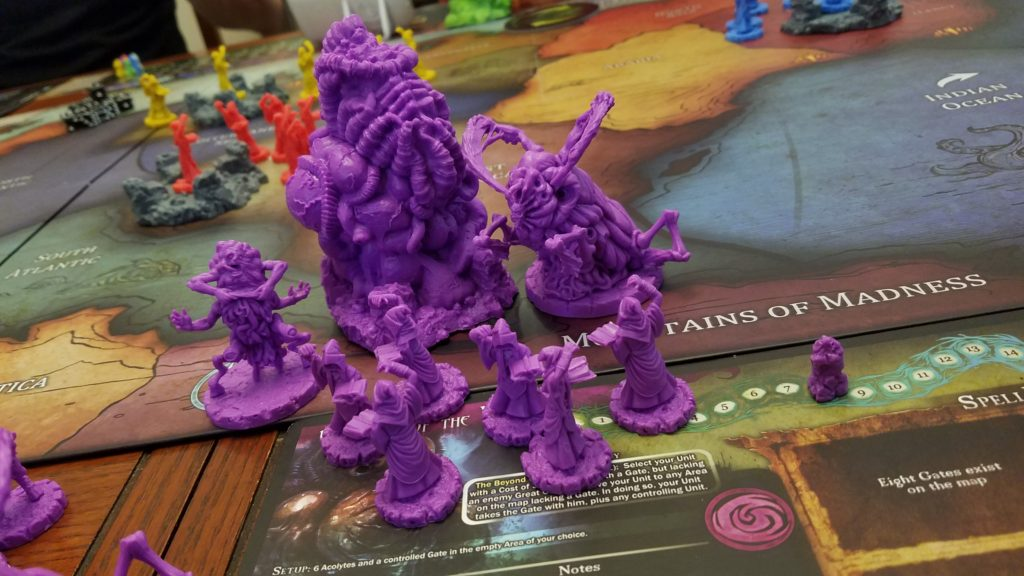 The purple guys are a faction in the expansion. Such cool figures!