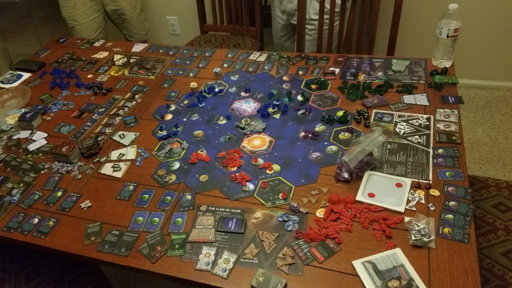 The epic, massive game that is Twilight Imperium.