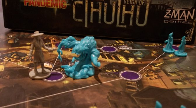Loving Lovecraft and Pandemic: Reign of Cthulhu