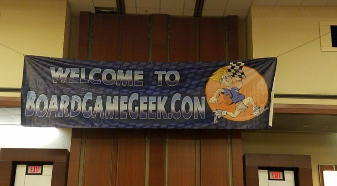 BGG Con 2016: All the board games I played!