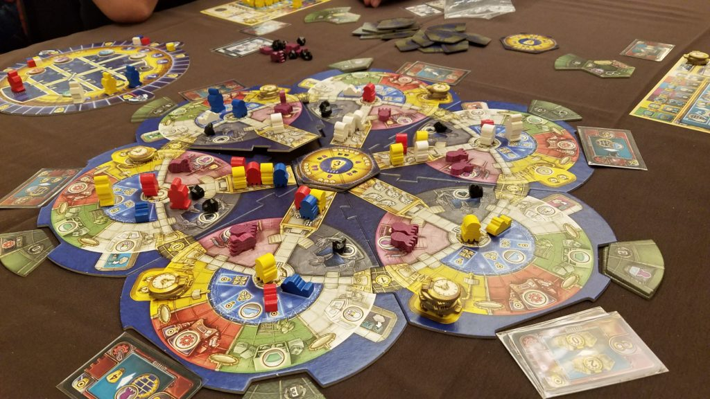 Watch out for those octopods! I taught 3 people how to play this game.