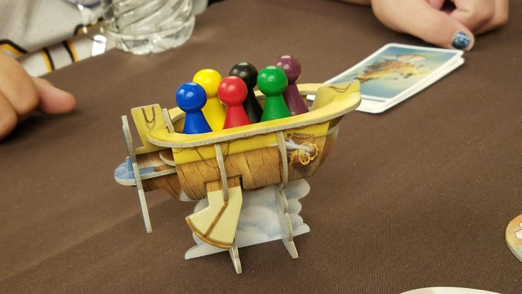 Celestia comes with this steampunk boat. I don't need to say anything else about this.