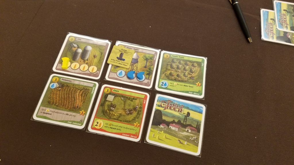 Fields of Dreams is a quick economy- and farm-building game.