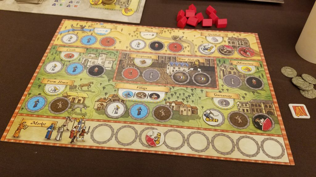 Playing Orleans and hoping my followers don't get killed by the plague.