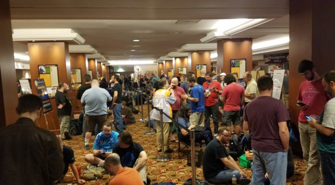 BGG Con 2016: Friends, Team Geek and new games!