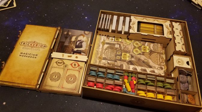 Tricking out my Trickerion game with Meeple Realty